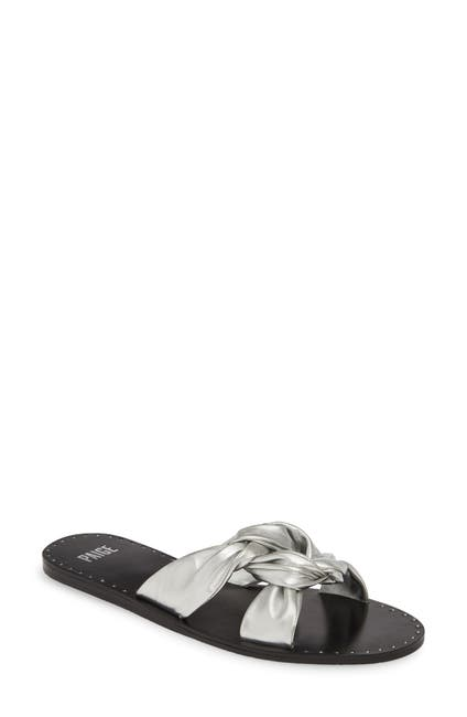 Image of PAIGE Elle Twist Vamp Slide Sandal
