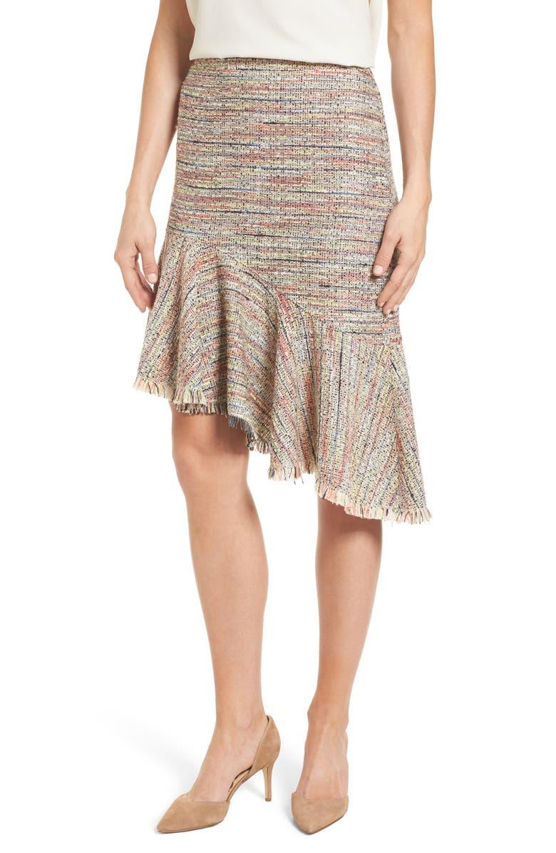8c1499f20f Halogen® Tweed Ruffle Skirt (Regular & Petite) | Nordstrom