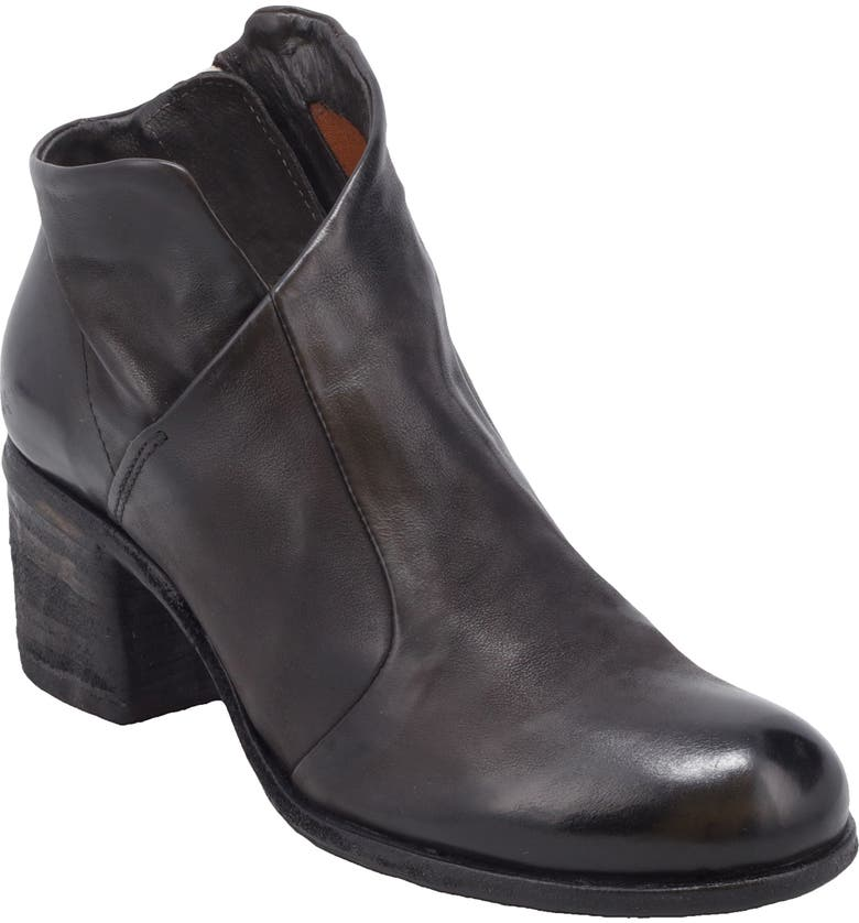A.S.98 Benin Bootie, Main, color, BLACK LEATHER