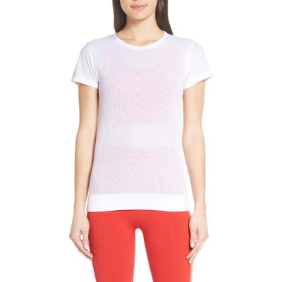 Monreal London Competition Perforated Tee, White