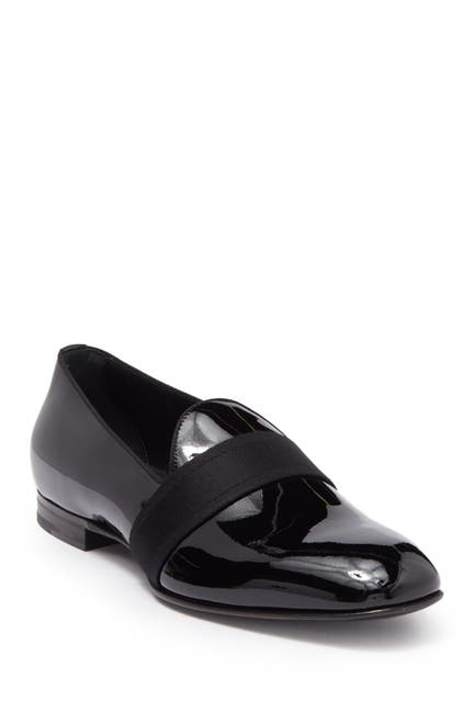 Image of BOSS Glam Patent Slip-On Loafer