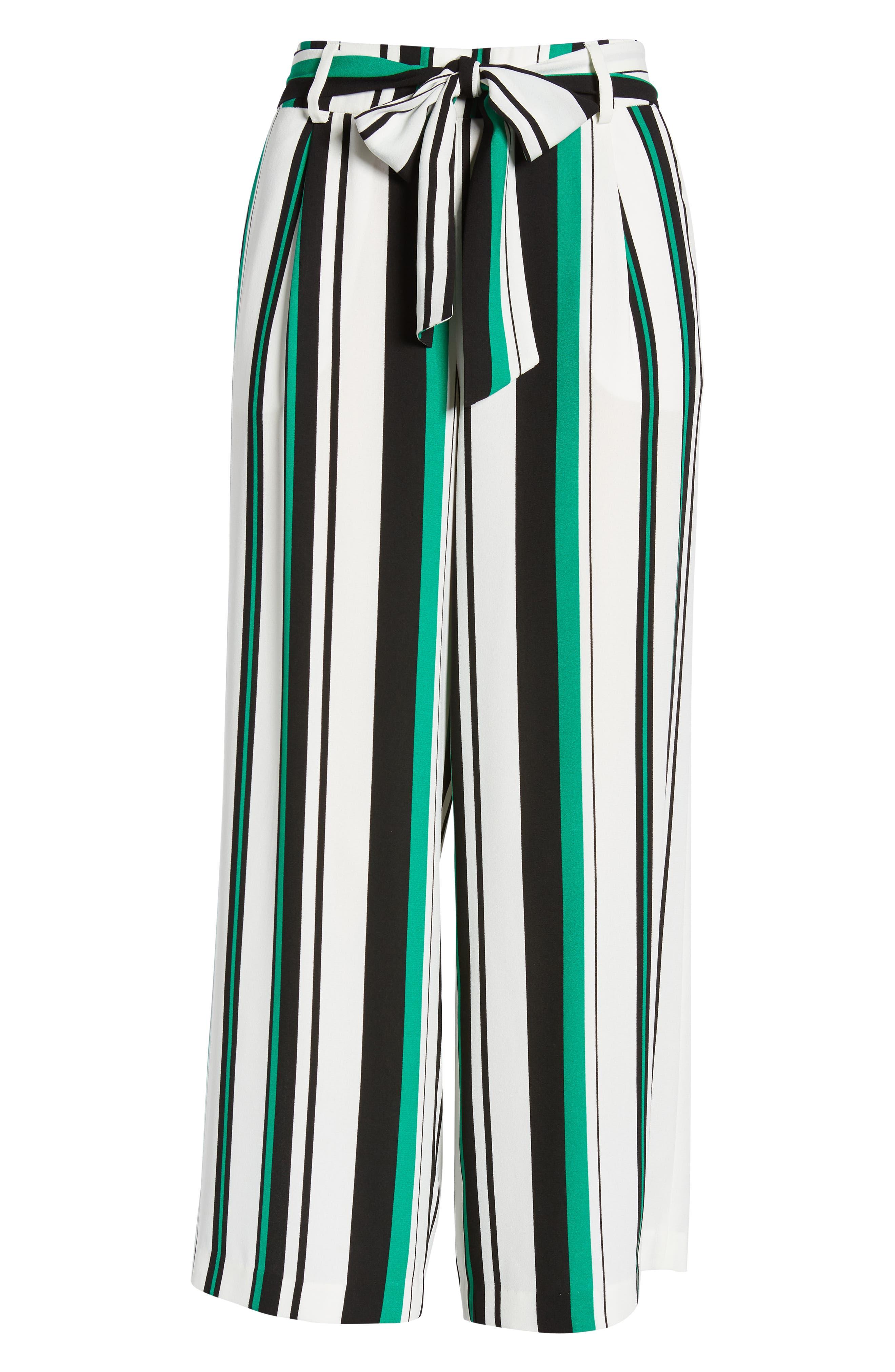 ,                             Wide Leg Crop Pants,                             Alternate thumbnail 100, color,                             903