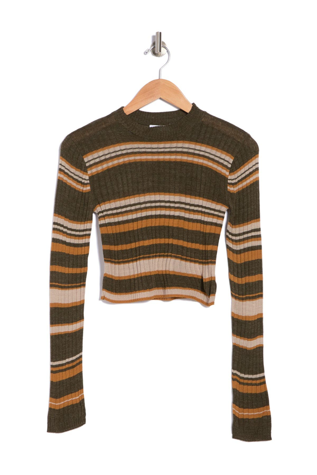 Image of Abound Ribbed Cropped Sweater
