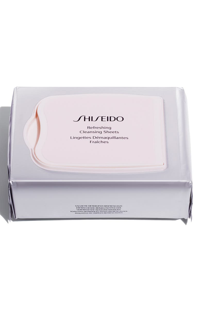 SHISEIDO Refreshing Cleansing Sheets, Main, color, NO COLOR