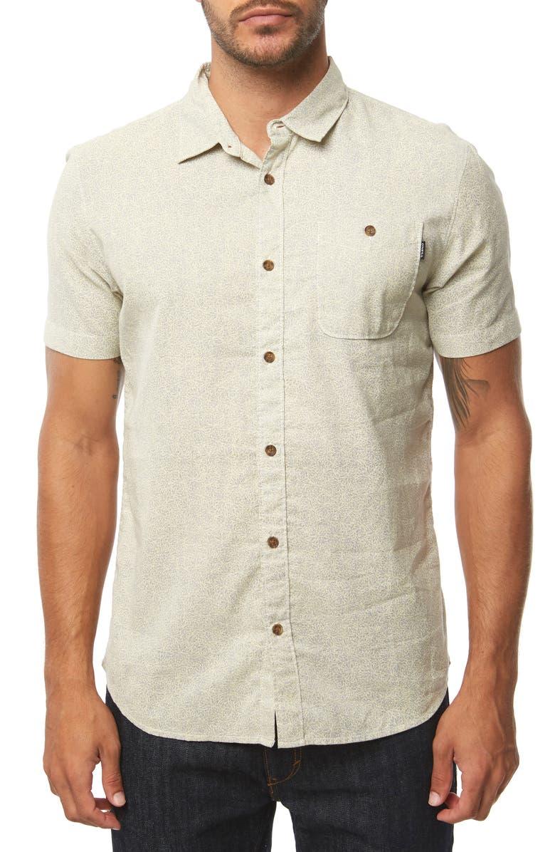 O'NEILL Pierson Woven Shirt, Main, color, HEATHER GREY