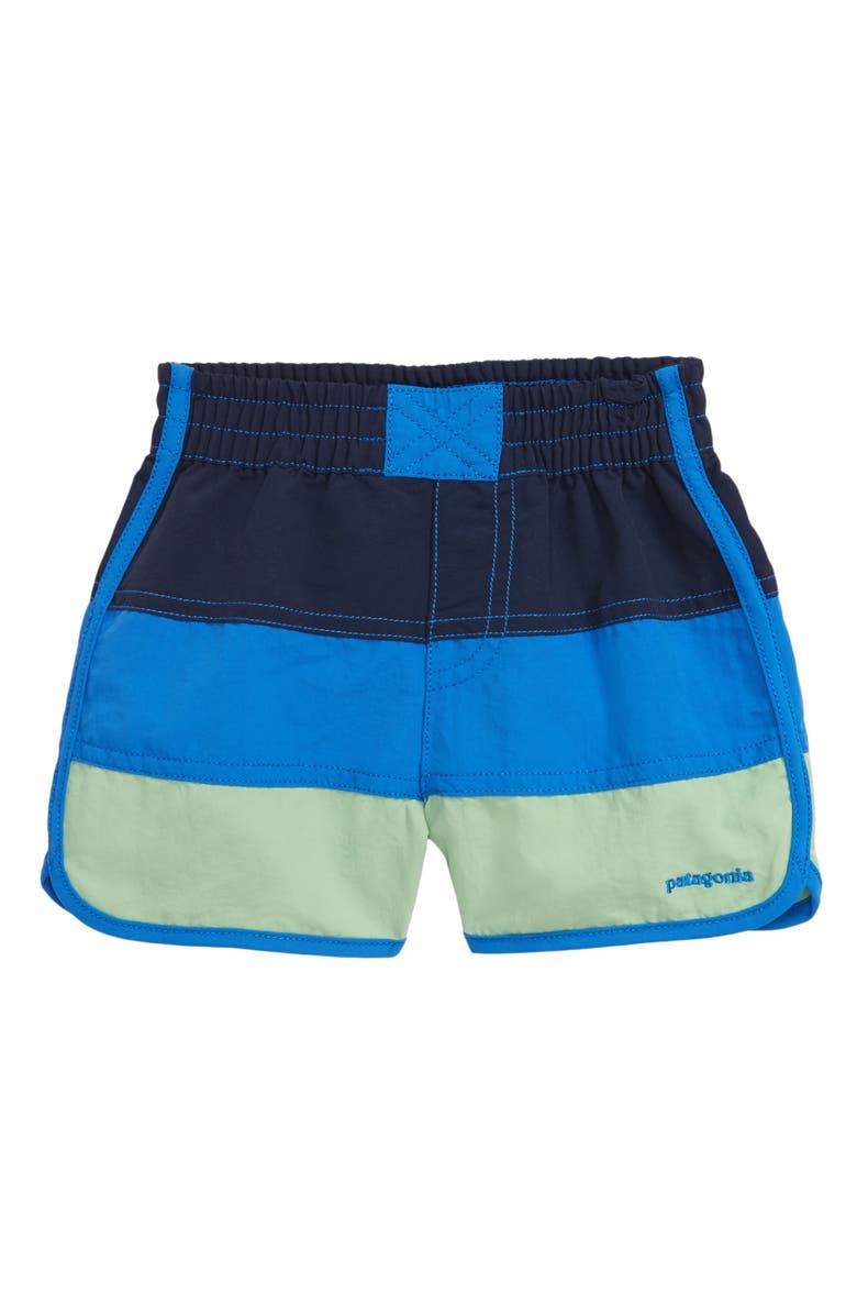 PATAGONIA Board Shorts, Main, color, NEW NAVY W/BAYOU BLUE