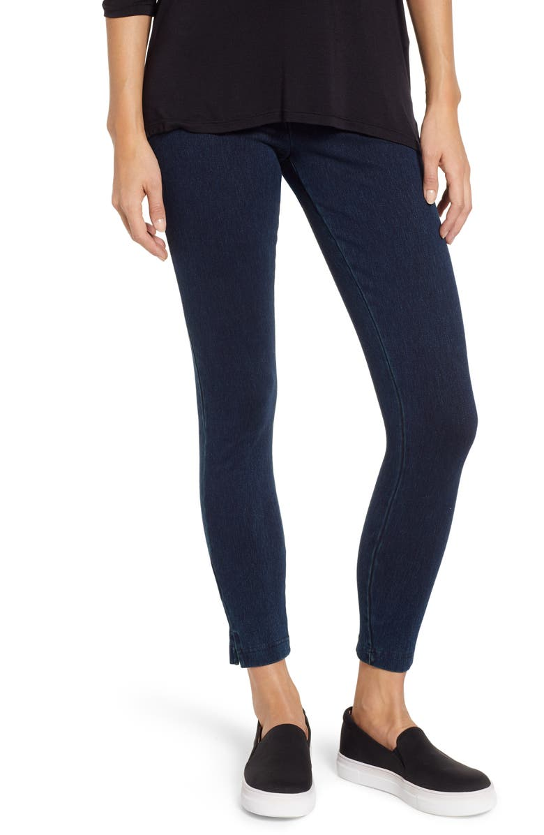LYSSÉ High Waist Skinny Denim Leggings, Main, color, INDIGO