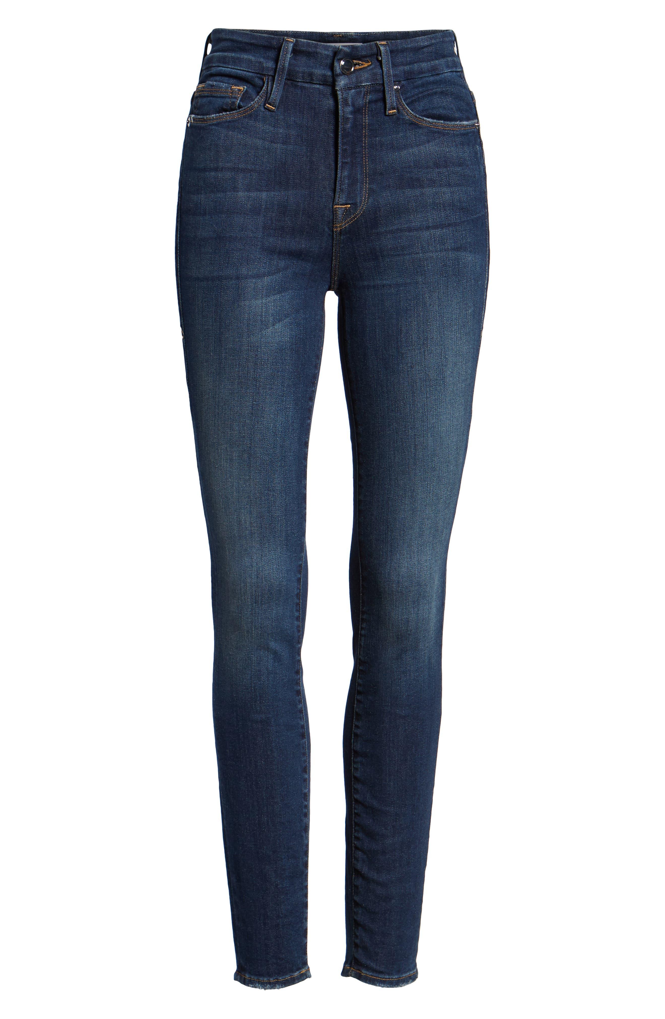 ,                             Good Legs High Waist Skinny Jeans,                             Alternate thumbnail 18, color,                             403