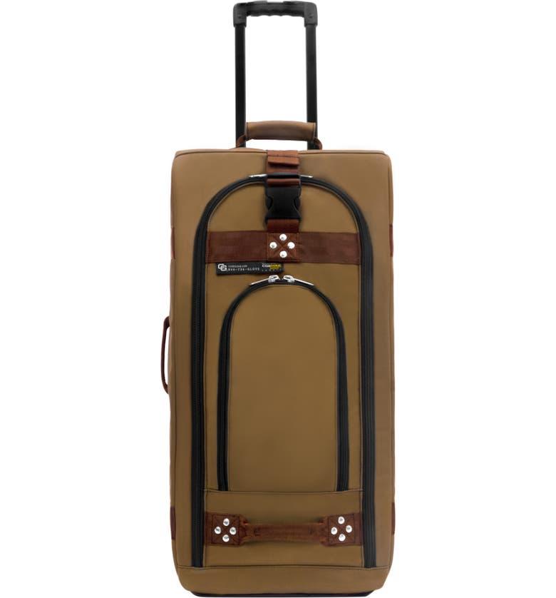 CLUB GLOVE <sup>®</sup> 'TRS Ballistic' Wheeled Carry-On, Main, color, DESERT SAND CINNAMON