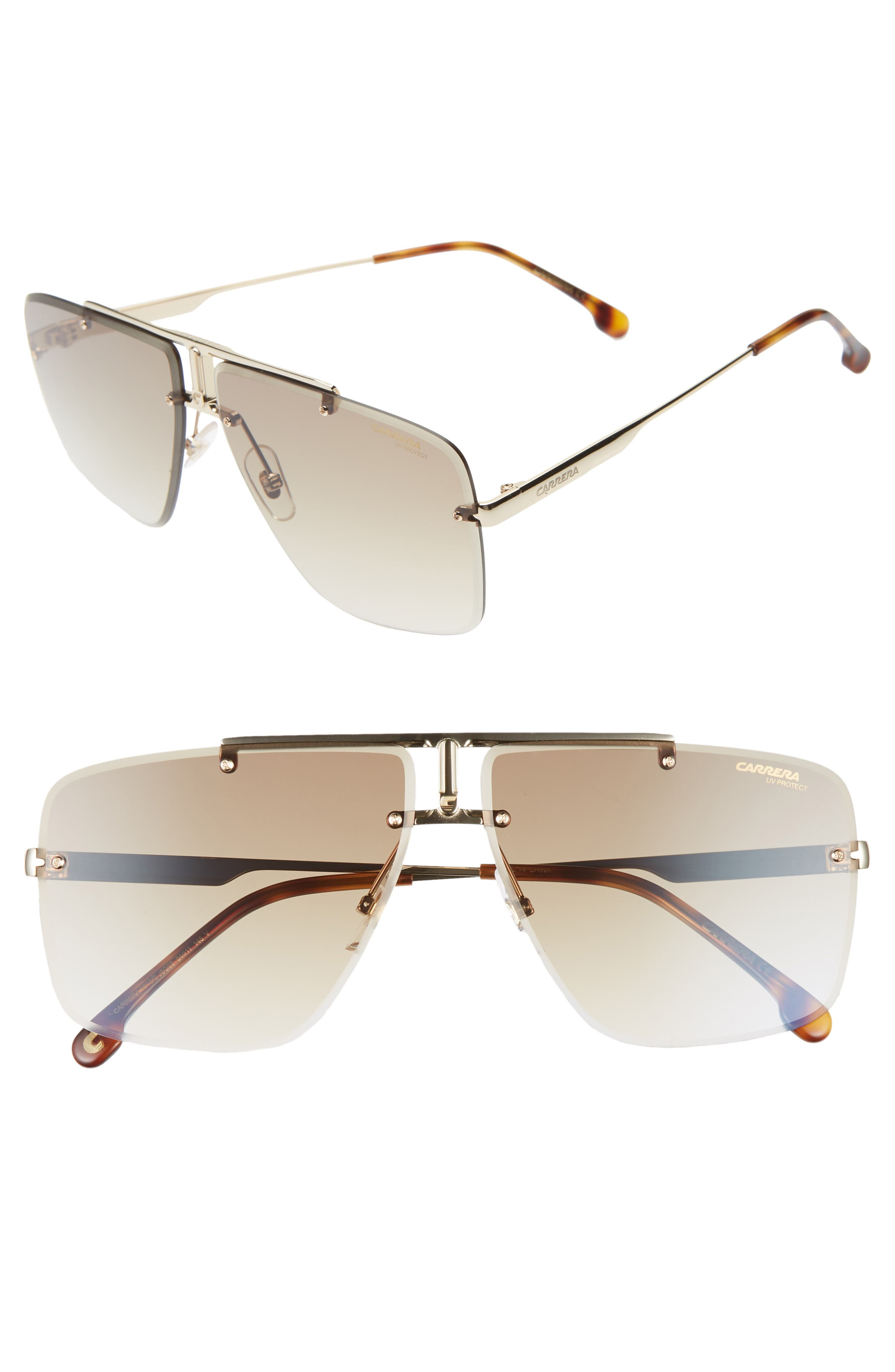 Carrera Eyewear Navigator Sunglasses - Gold