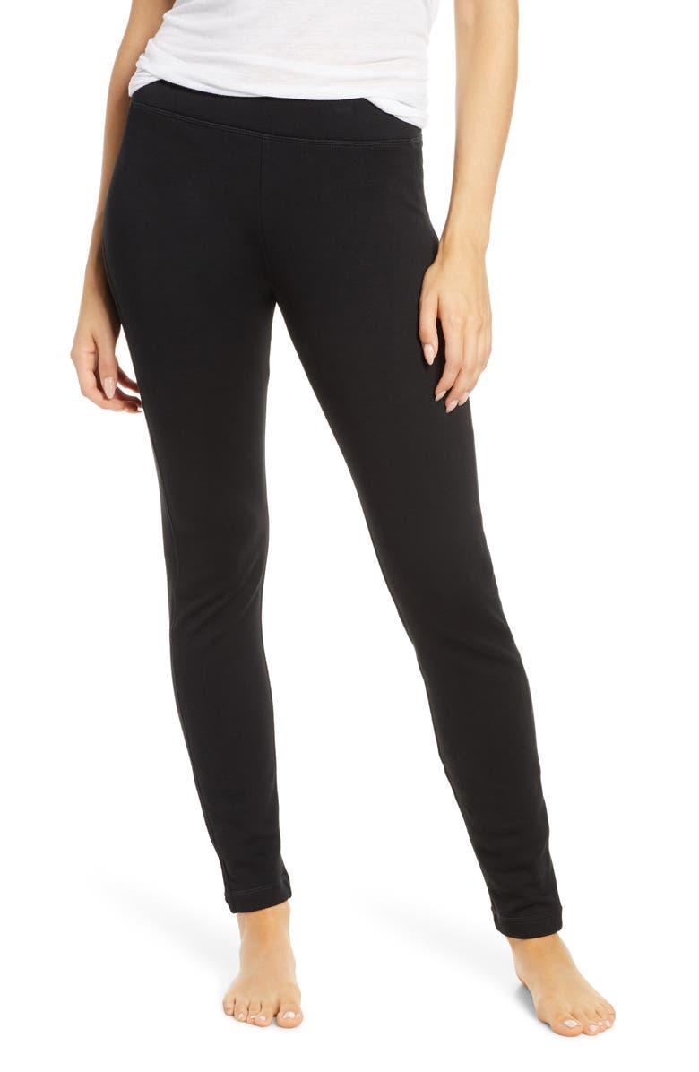 UGG<SUP>®</SUP> Ashlee Double Knit Leggings, Main, color, 001
