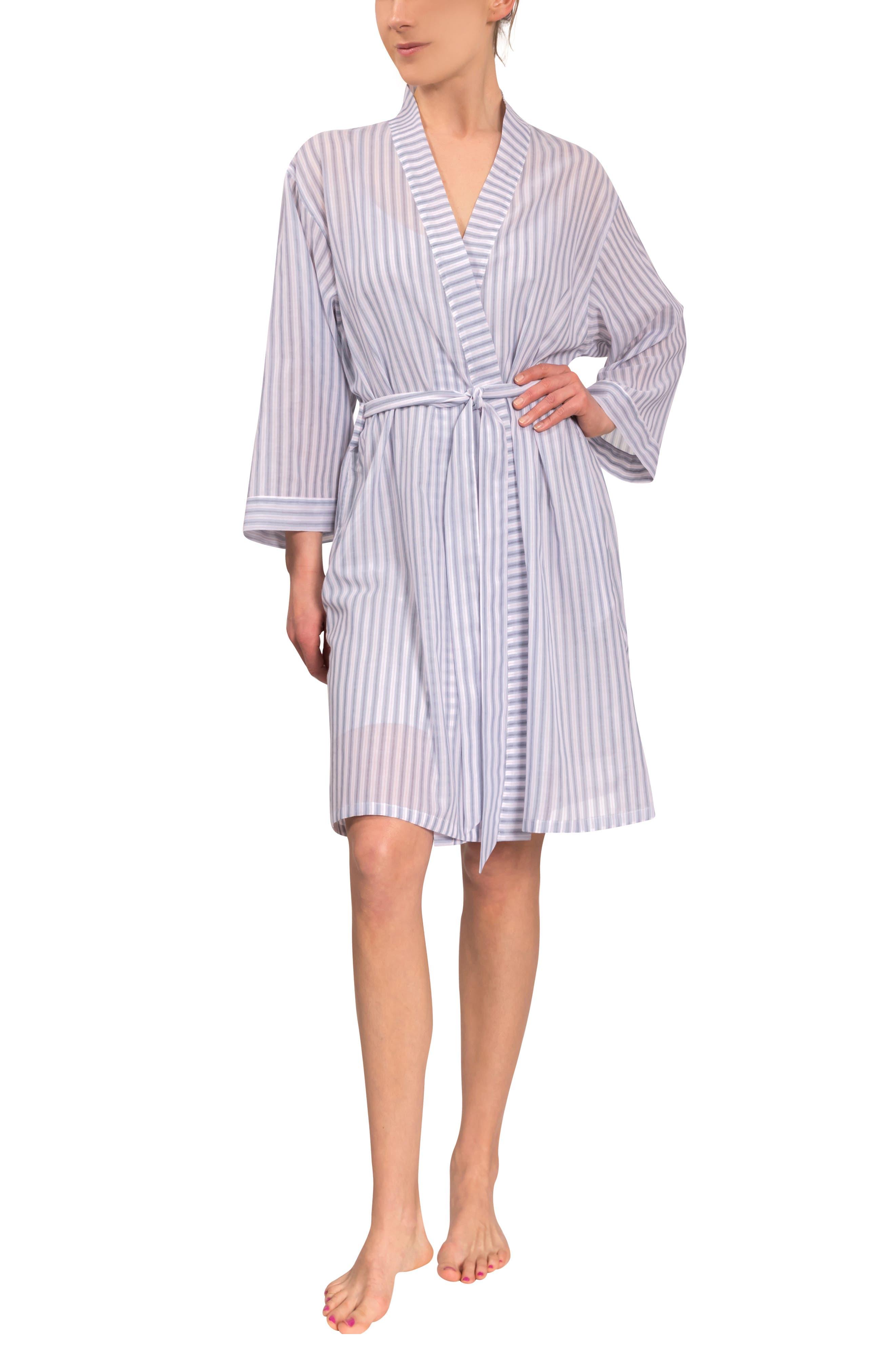 Mistry Stripe Cotton Robe