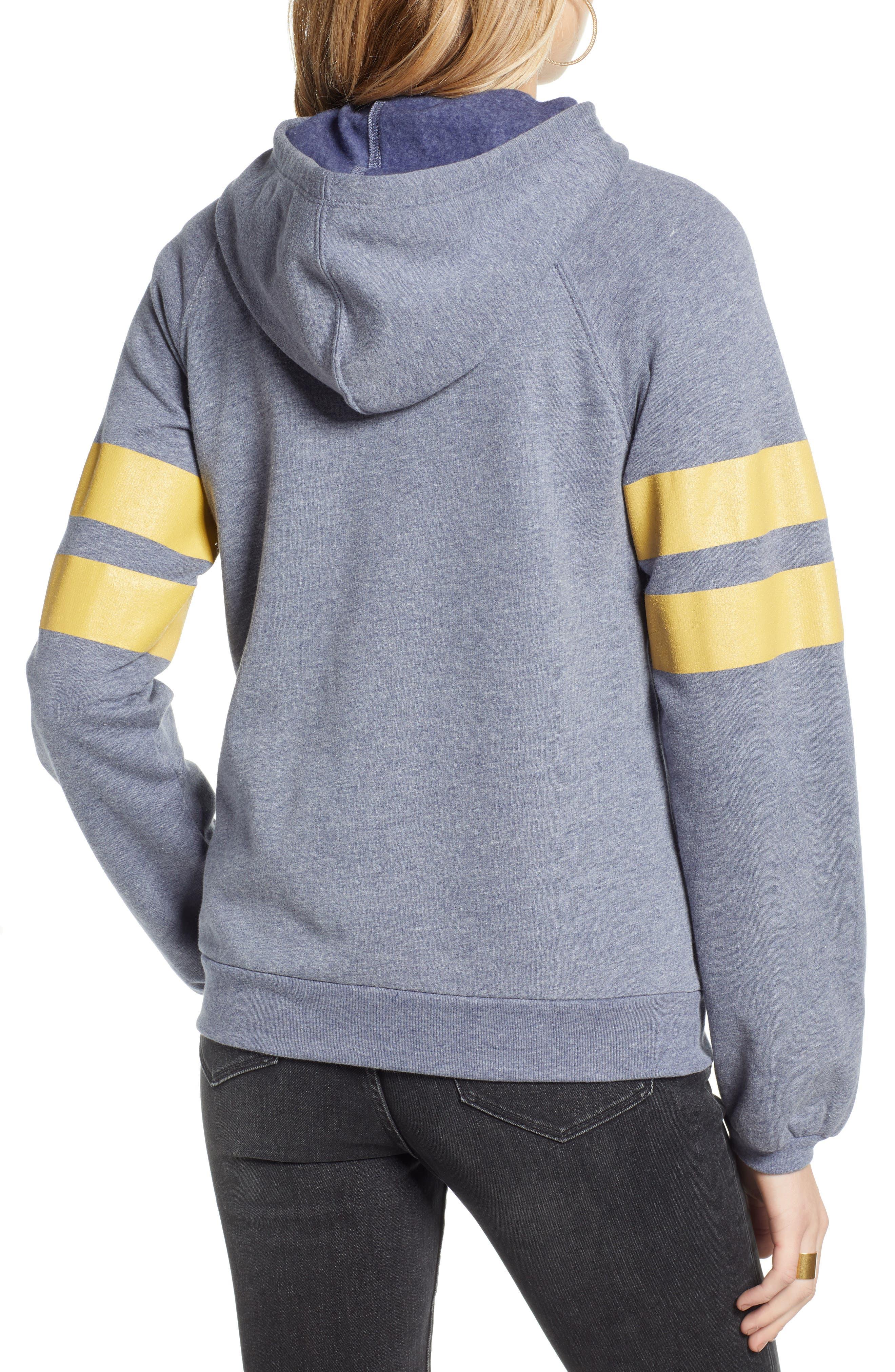 ,                             Varsity Stripe Hoodie,                             Alternate thumbnail 14, color,                             401