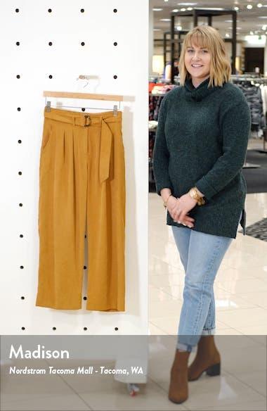 Belted High Waist Wide Leg Pants, sales video thumbnail