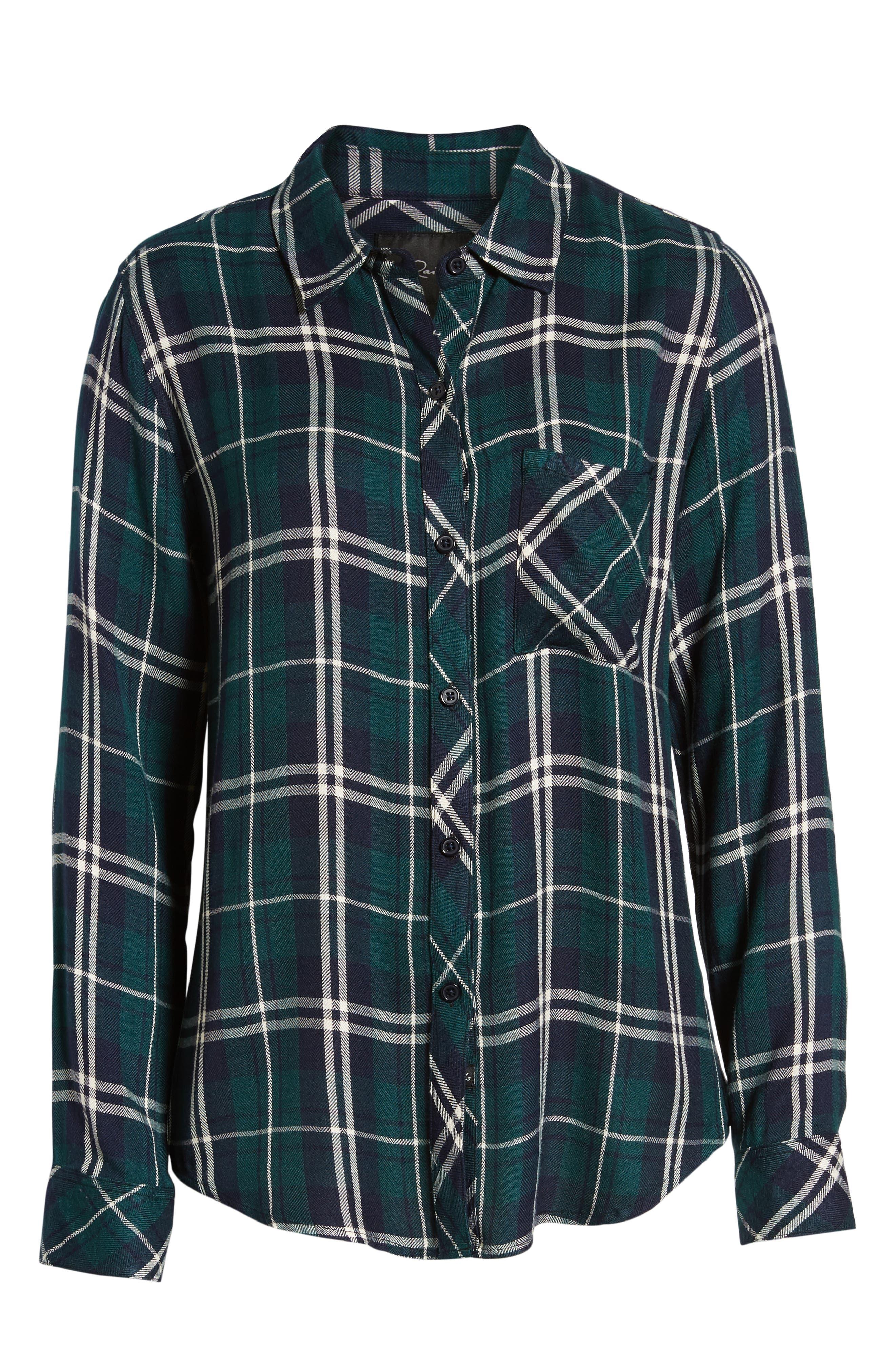 ,                             Hunter Plaid Shirt,                             Alternate thumbnail 366, color,                             419