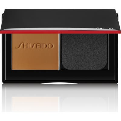 Shiseido Synchro Skin Self-Refreshing Custom Finish Powder Foundation - 440 Amber