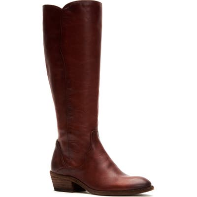 Frye Carson Knee High Boot- Brown