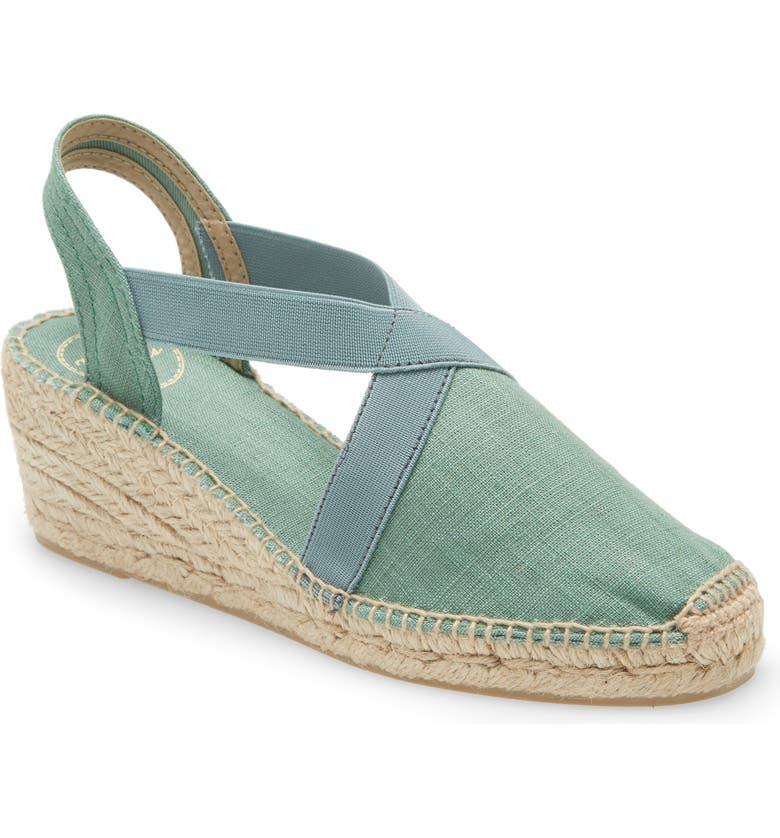 TONI PONS 'Ter' Slingback Espadrille Sandal, Main, color, MINT FABRIC