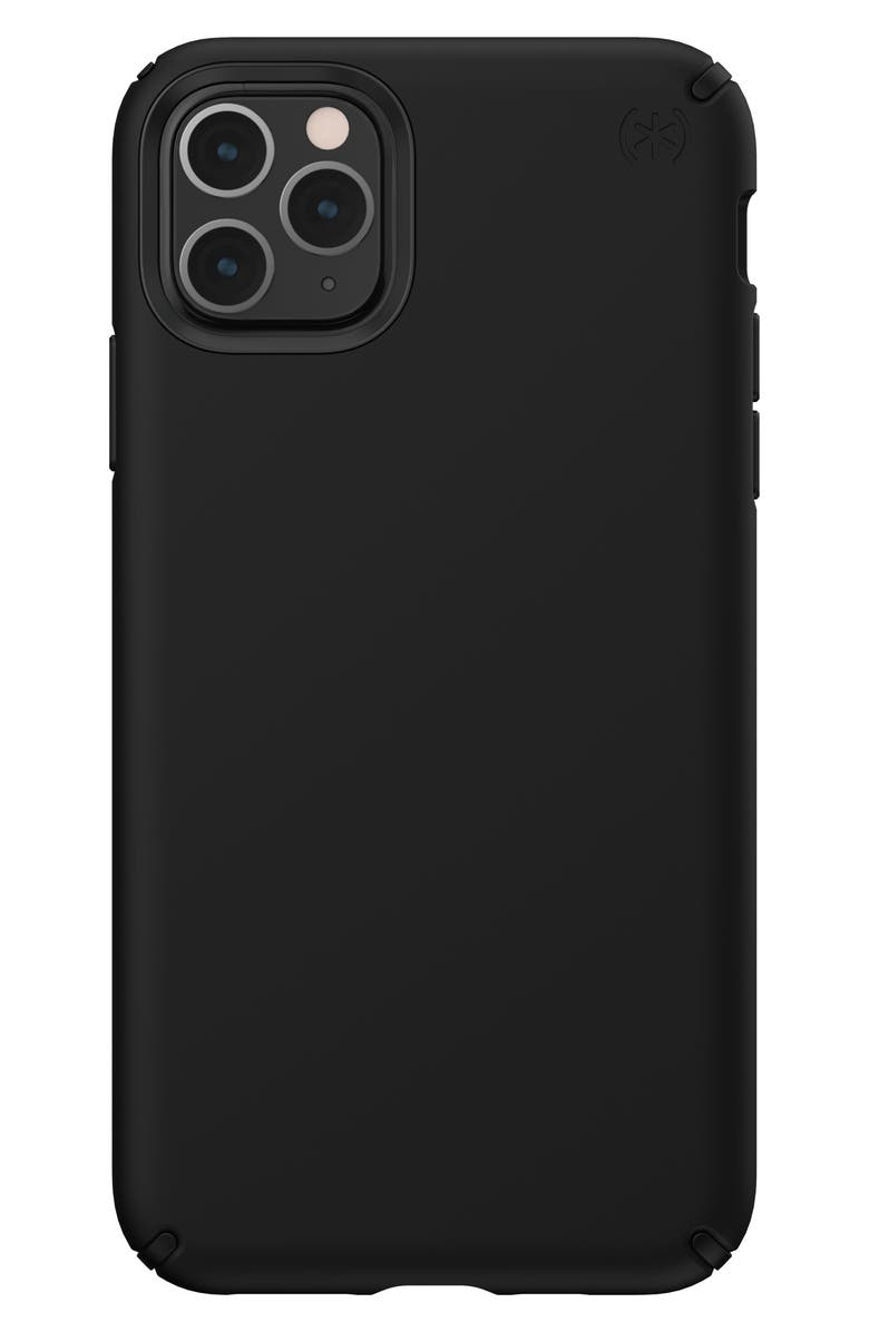 SPECK Presidio Pro iPhone 11/11 Pro & 11 Pro Max Case, Main, color, BLACK/ BLACK