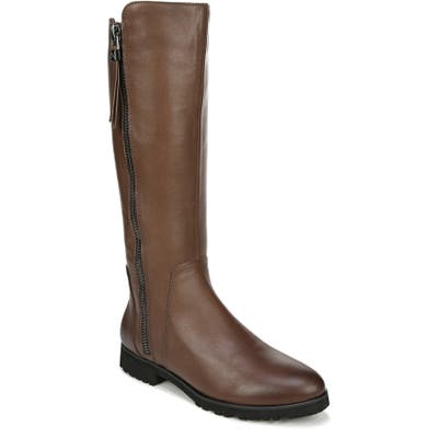 Naturalizer Gael Knee High Boot, Wide Calf- Brown