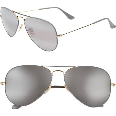 Ray-Ban Original Aviator 5m Sunglasses - Gold Grey