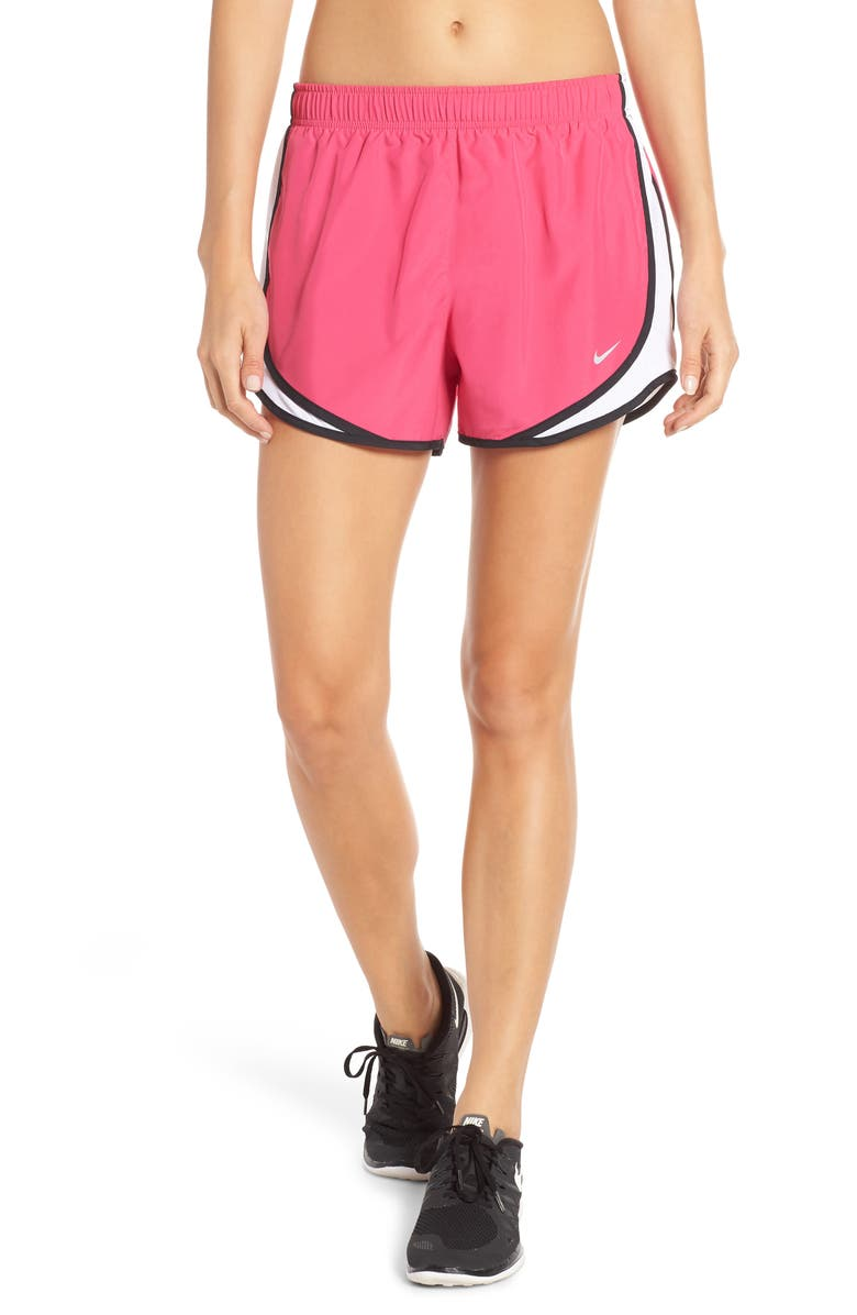 NIKE Tempo Dri-FIT Running Shorts, Main, color, PINK/ WHITE/ BLACK/ WOLF GREY