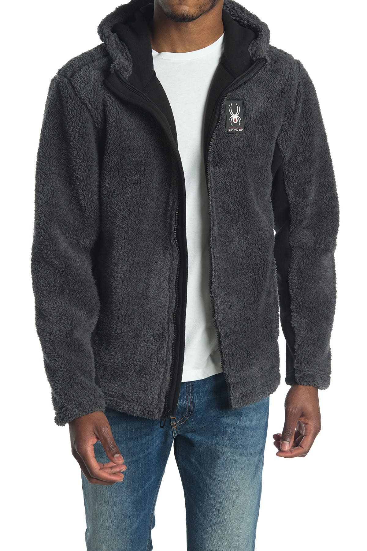 Image of SPYDER Shaggy Full Zip Jacket
