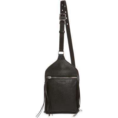 Rag & Bone Elliott Sling Leather Bag - Black