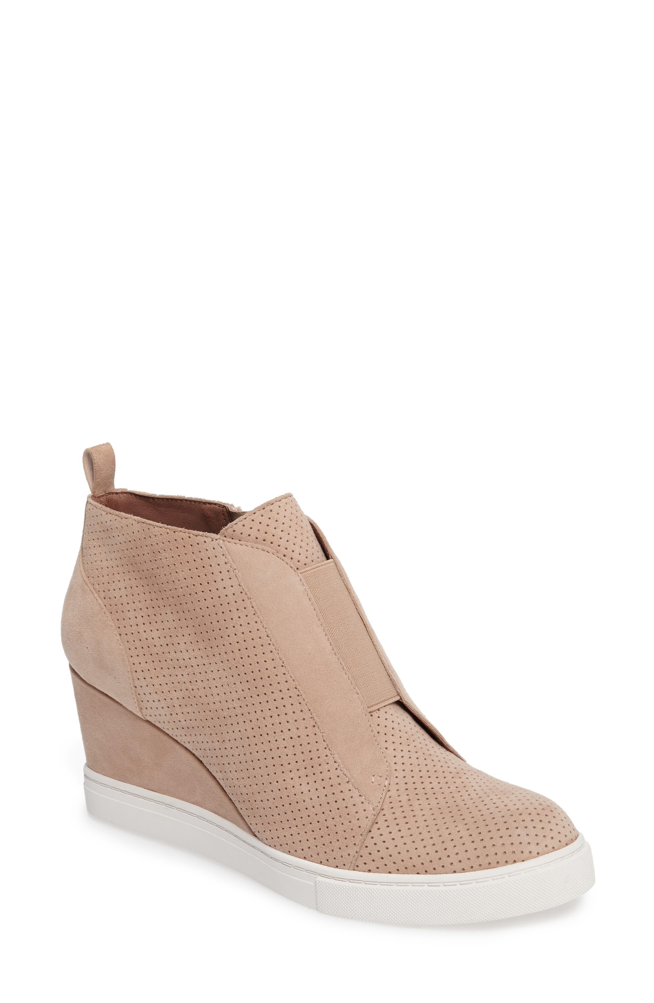 Linea Paolo Felicia Wedge Bootie, Pink