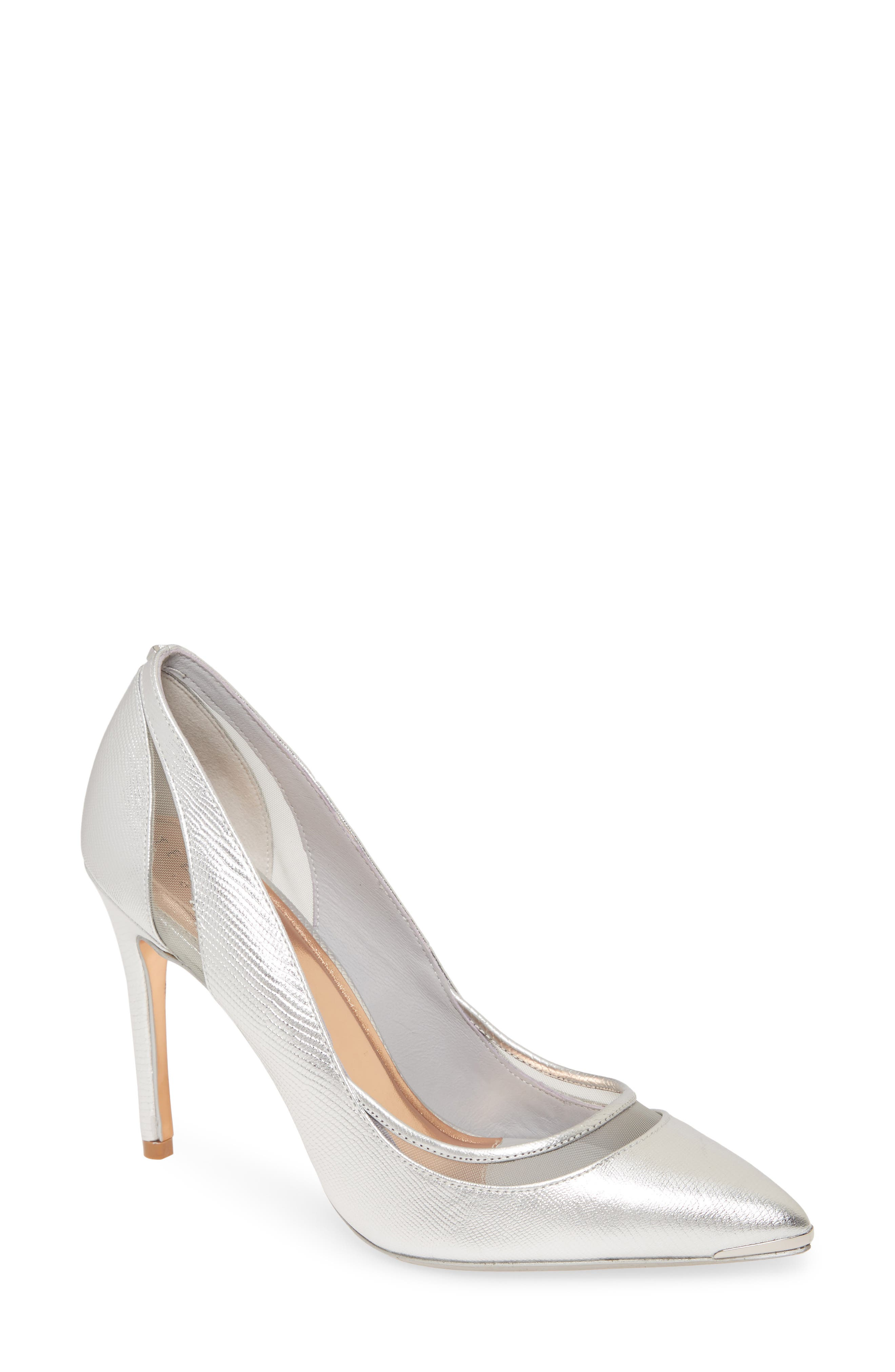Image of Ted Baker London Clancyl Exotic Mesh Pump