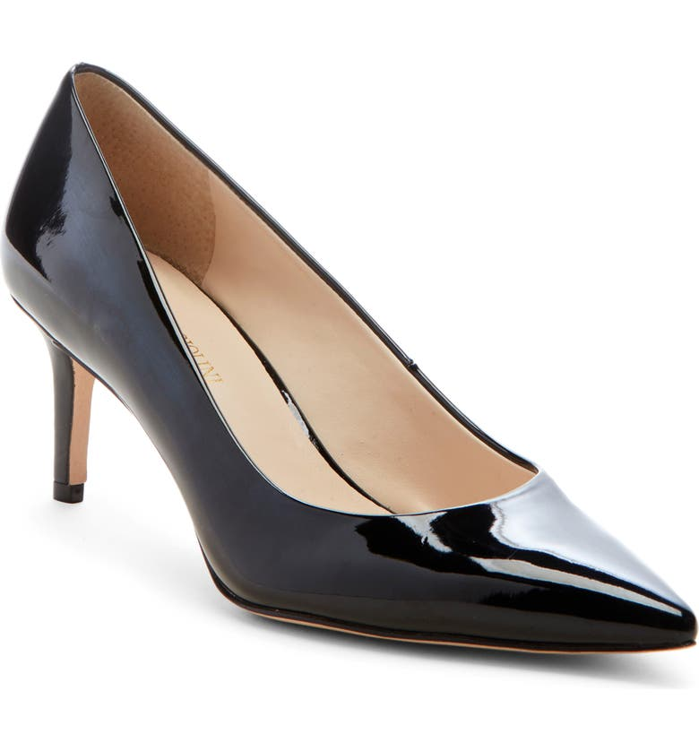 ENZO ANGIOLINI Ranci Pump, Main, color, BLACK FAUX PATENT