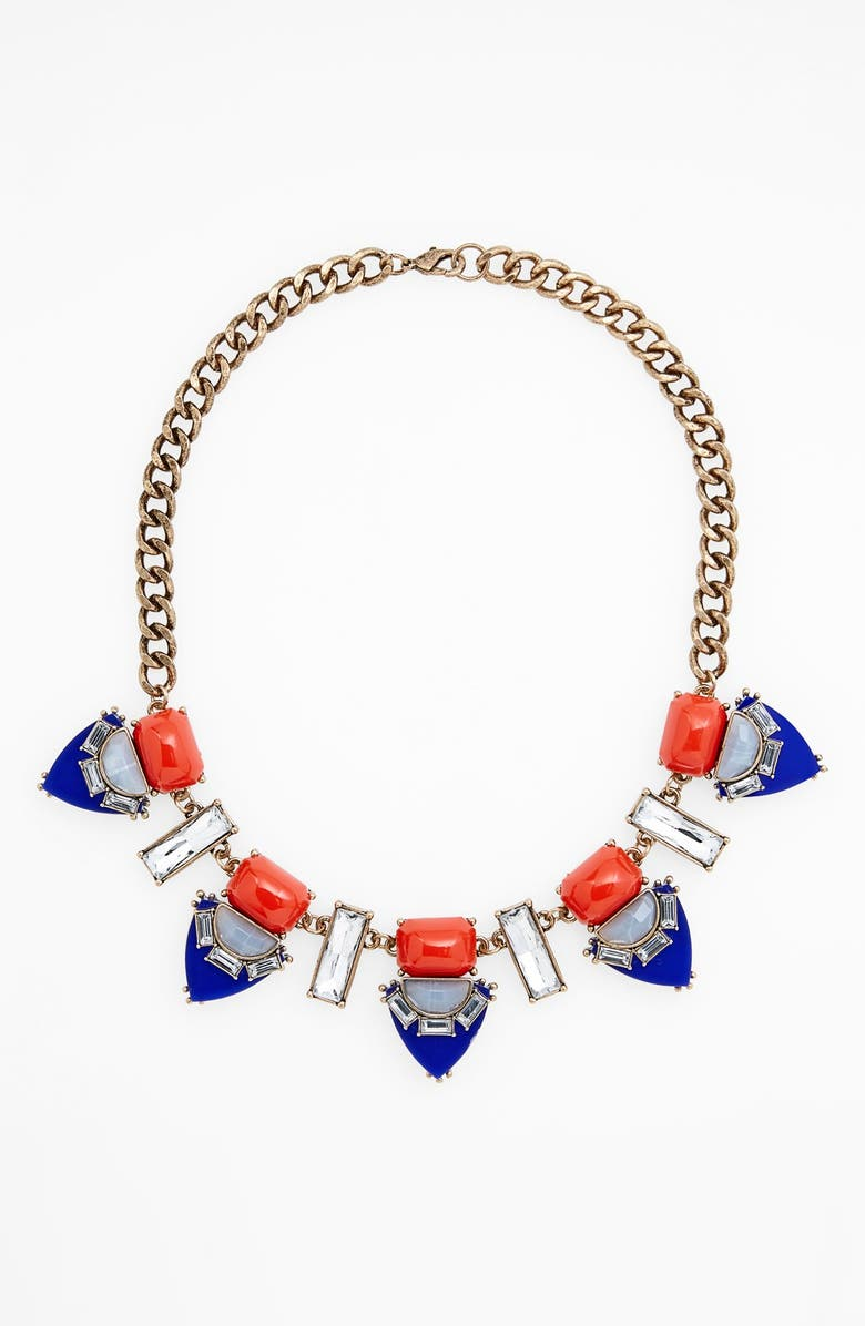 MISSING PIECE Statement Necklace, Main, color, 400