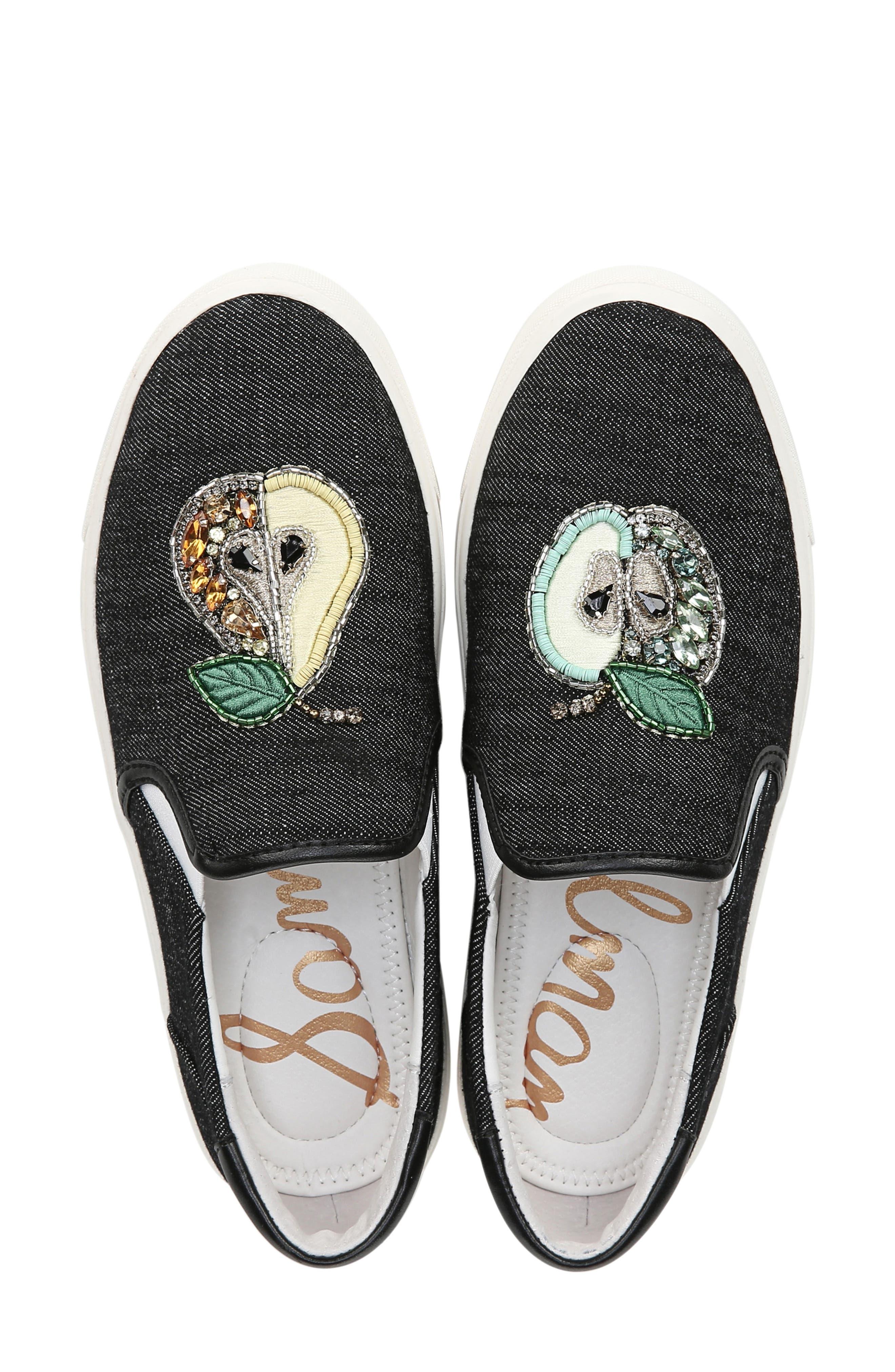 ,                             Evelina 5 Slip On Sneaker,                             Alternate thumbnail 5, color,                             001