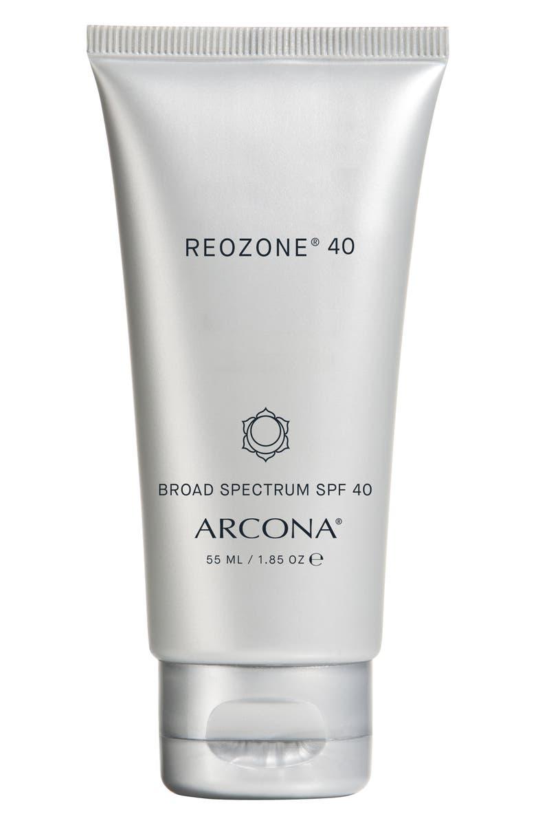 ARCONA Reozone<sup>®</sup> 40 Broad Spectrum SPF 40 Sunscreen, Main, color, NO COLOR