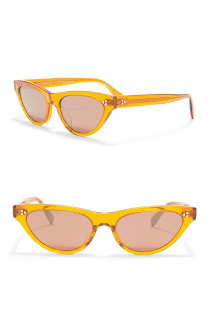 Image of Oliver Peoples Zasia 53mm Cat Eye Sunglasses