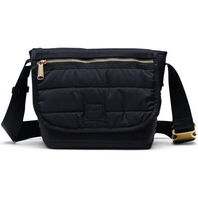 Herschel Supply Co. Mini Grade Quilted Messenger Bag - Black