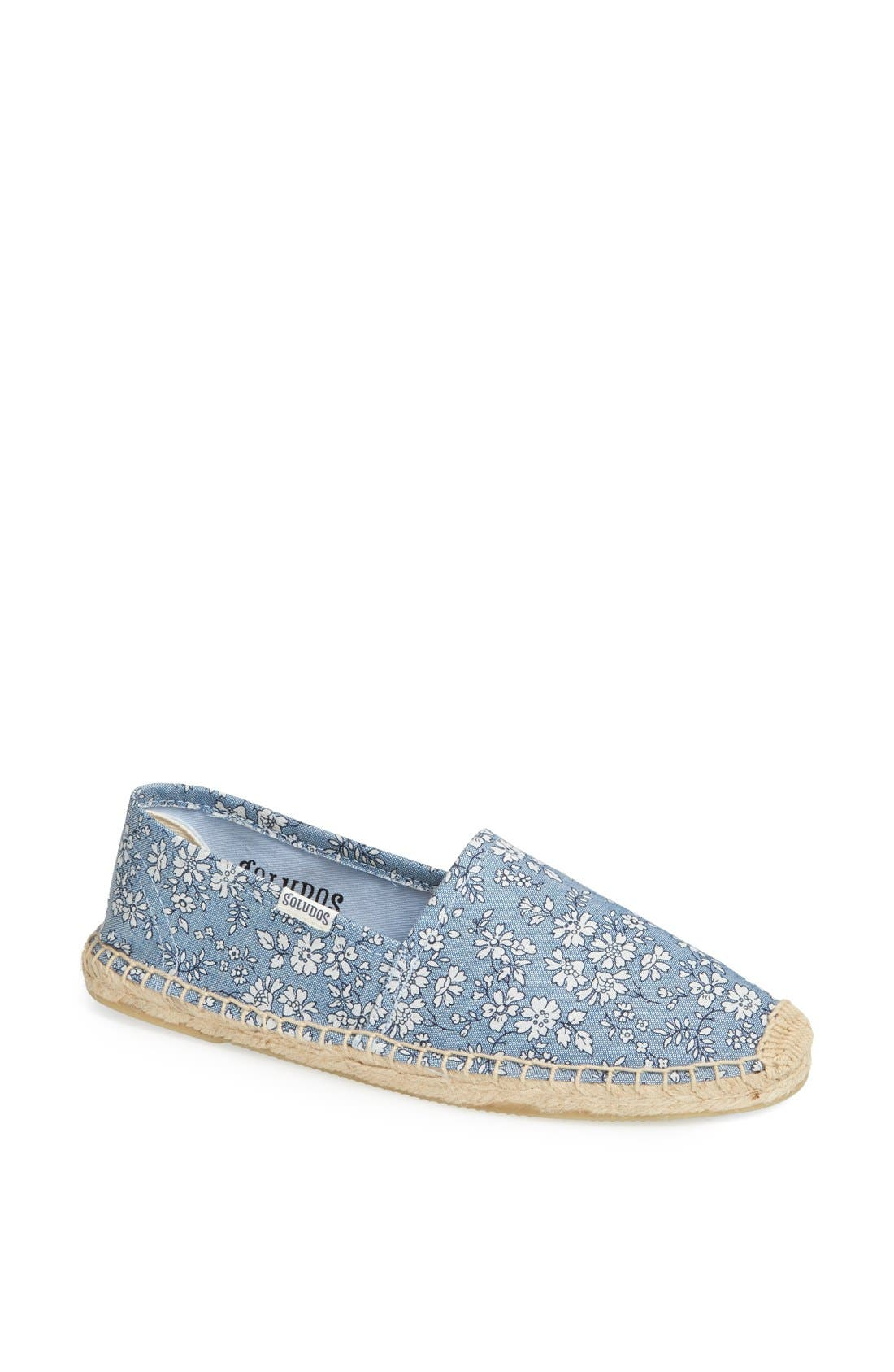 ,                             We Are Handsome x Soludos 'Derby' Lace-Up Espadrille,                             Main thumbnail 9, color,                             403