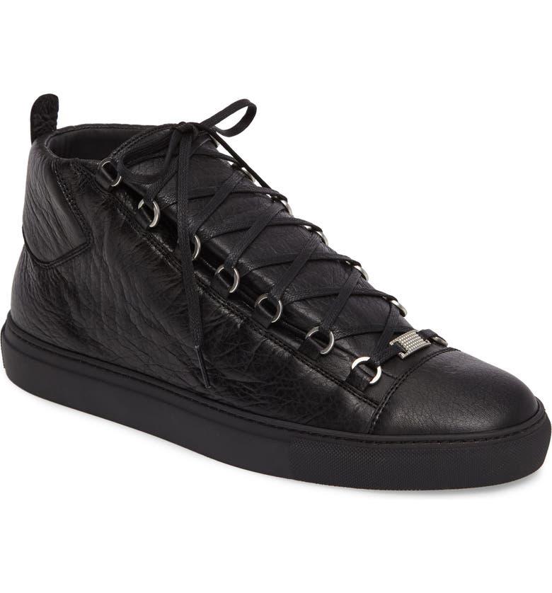 sobrino Discriminación sexual Lijadoras  Balenciaga Arena High Sneaker (Men) | Nordstrom