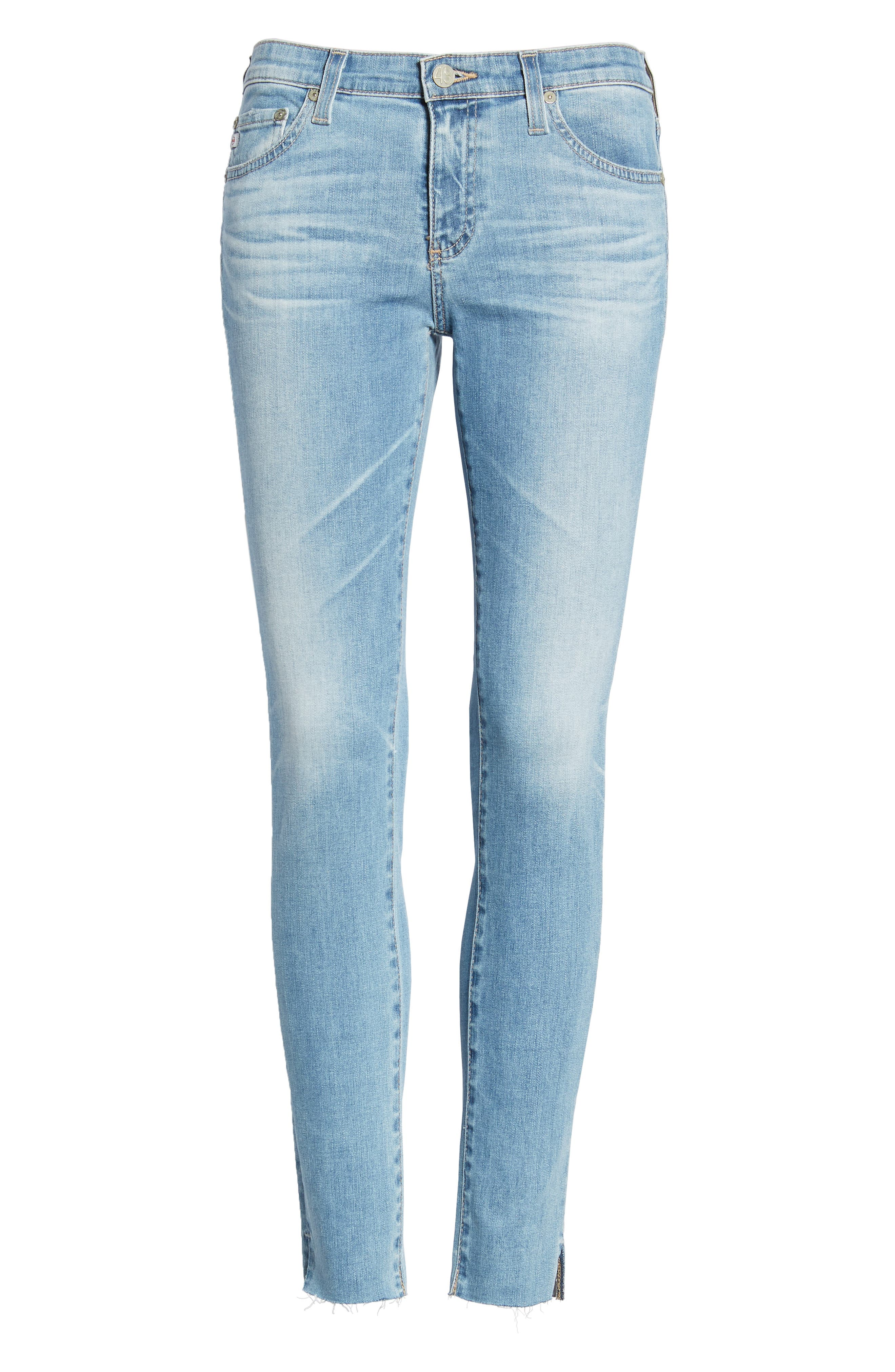 ,                             The Legging Ripped Ankle Skinny Jeans,                             Alternate thumbnail 13, color,                             427