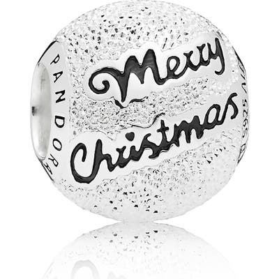 Pandora Merry Christmas Charm