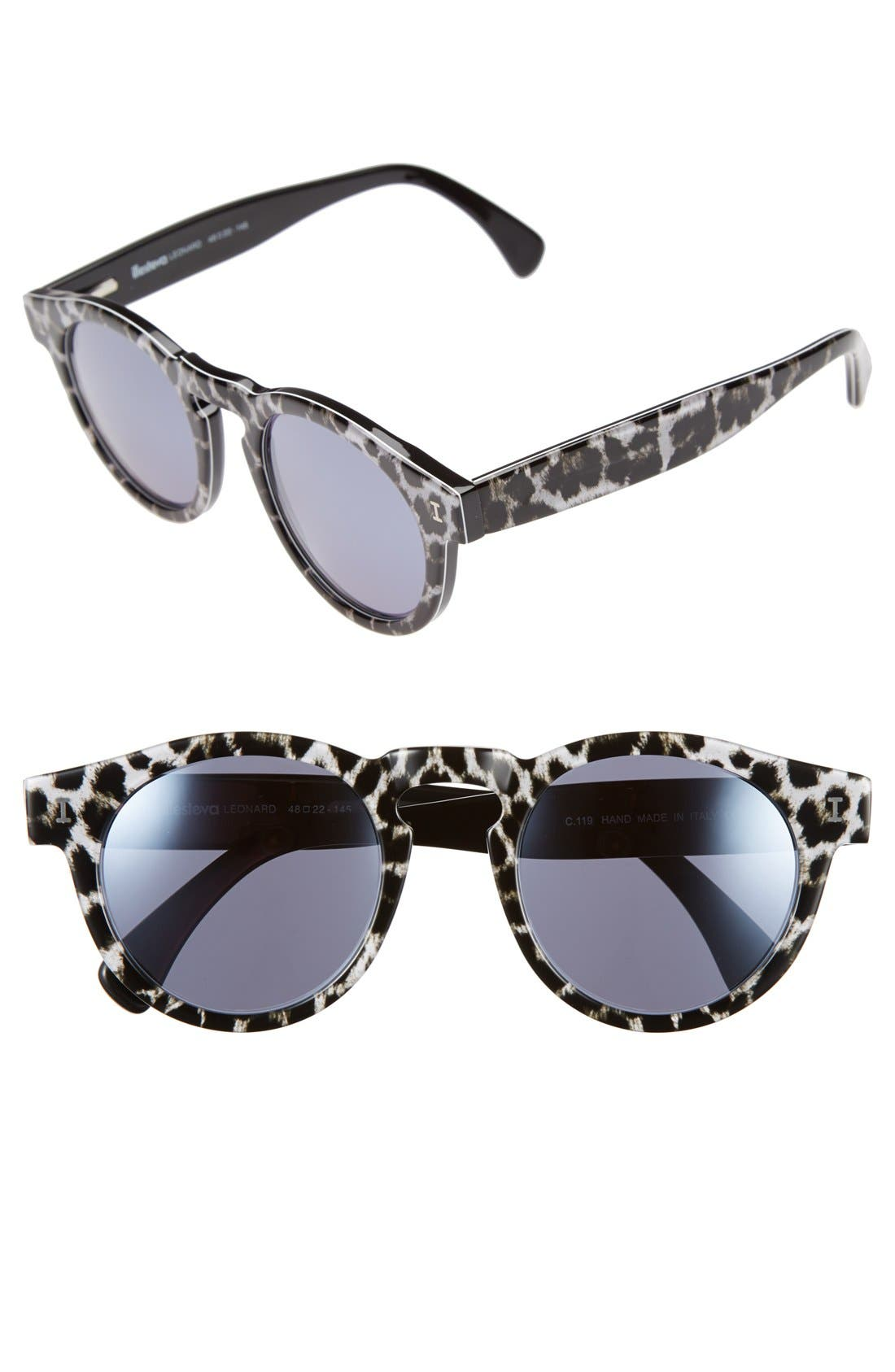 ,                             'Leonard' 47mm Sunglasses,                             Main thumbnail 9, color,                             005
