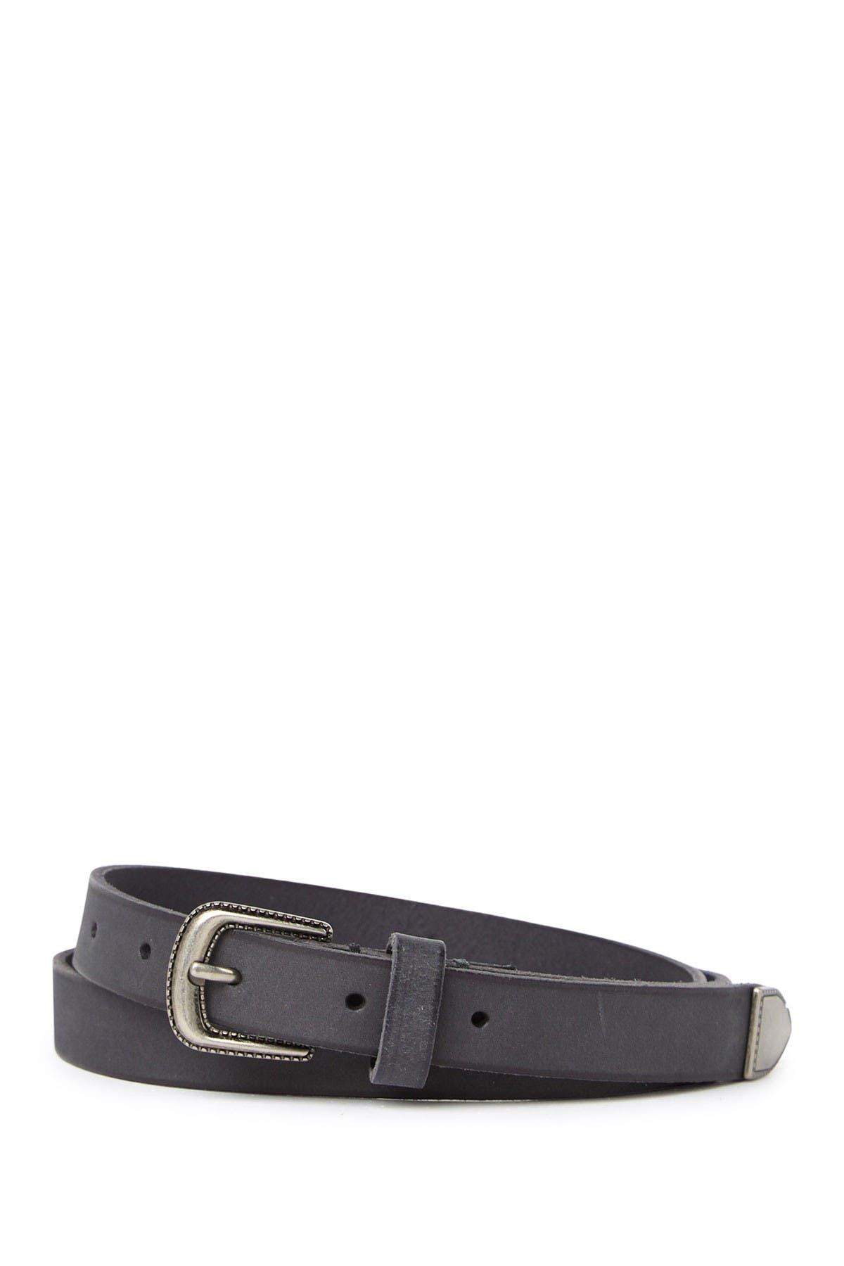Image of Frye Western Leather Belt