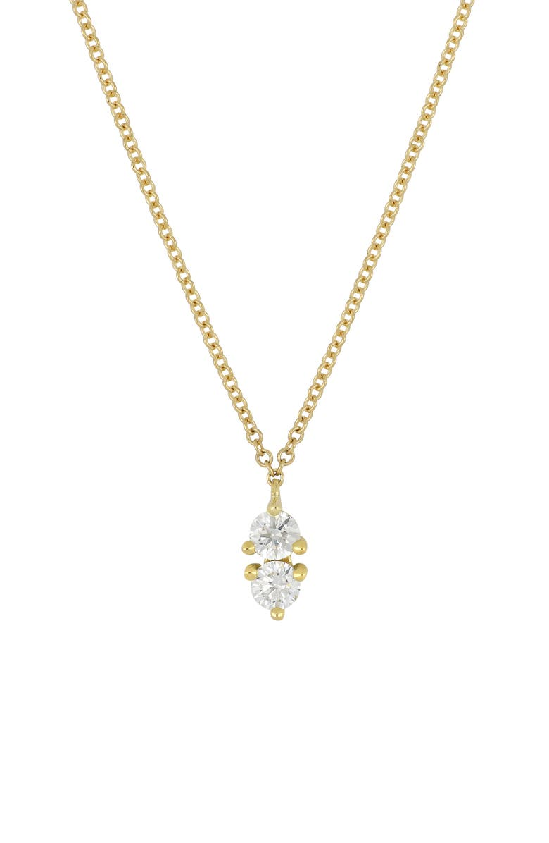 BONY LEVY Birthstone Pendant Necklace, Main, color, 101