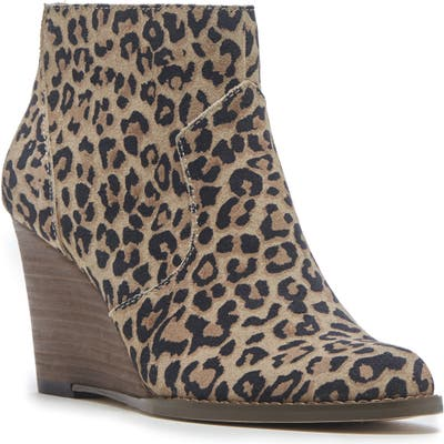 Sole Society Patsy Wedge Bootie, Brown