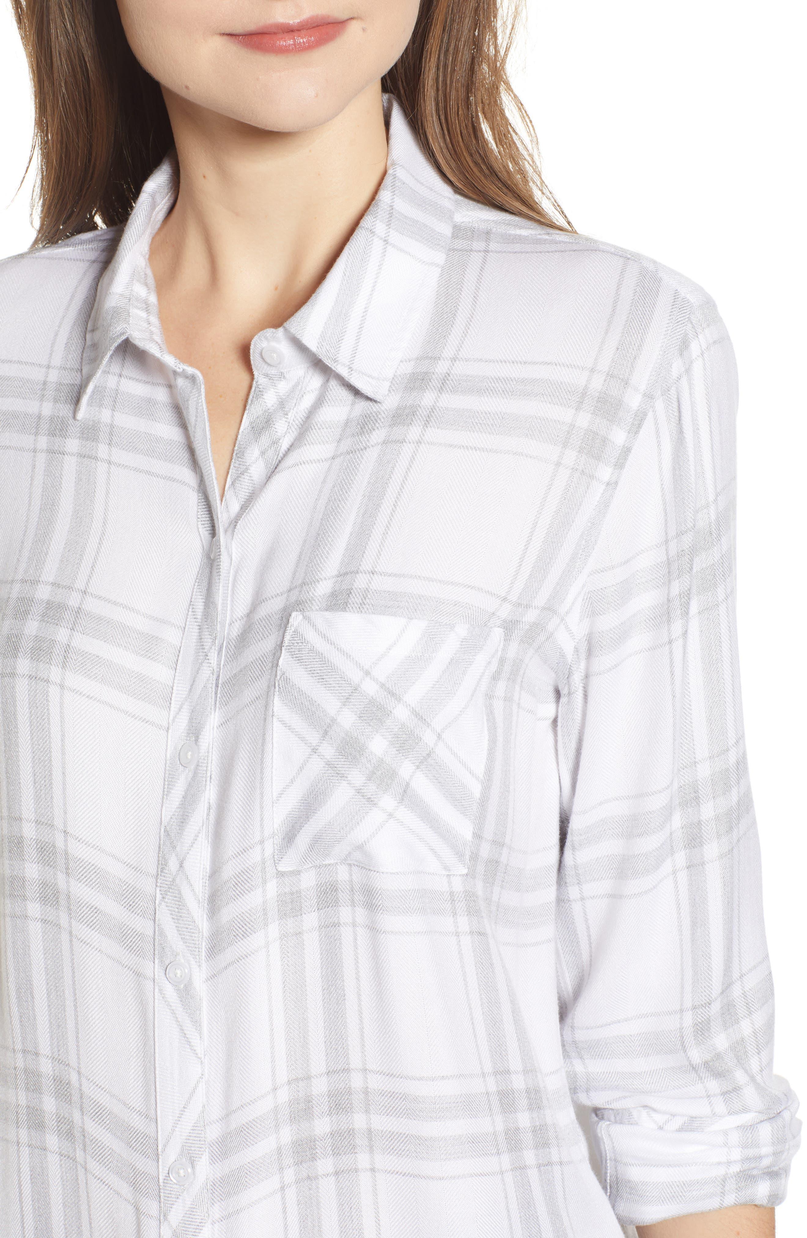 ,                             Hunter Plaid Shirt,                             Alternate thumbnail 302, color,                             198
