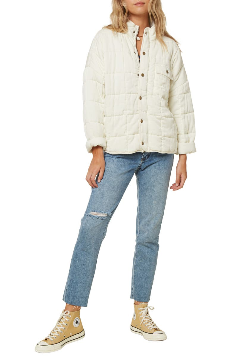 O'NEILL Mable Quilted Jacket, Main, color, 101
