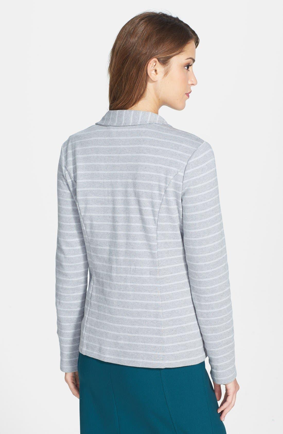 ,                             Roll Sleeve Knit Blazer,                             Alternate thumbnail 14, color,                             030