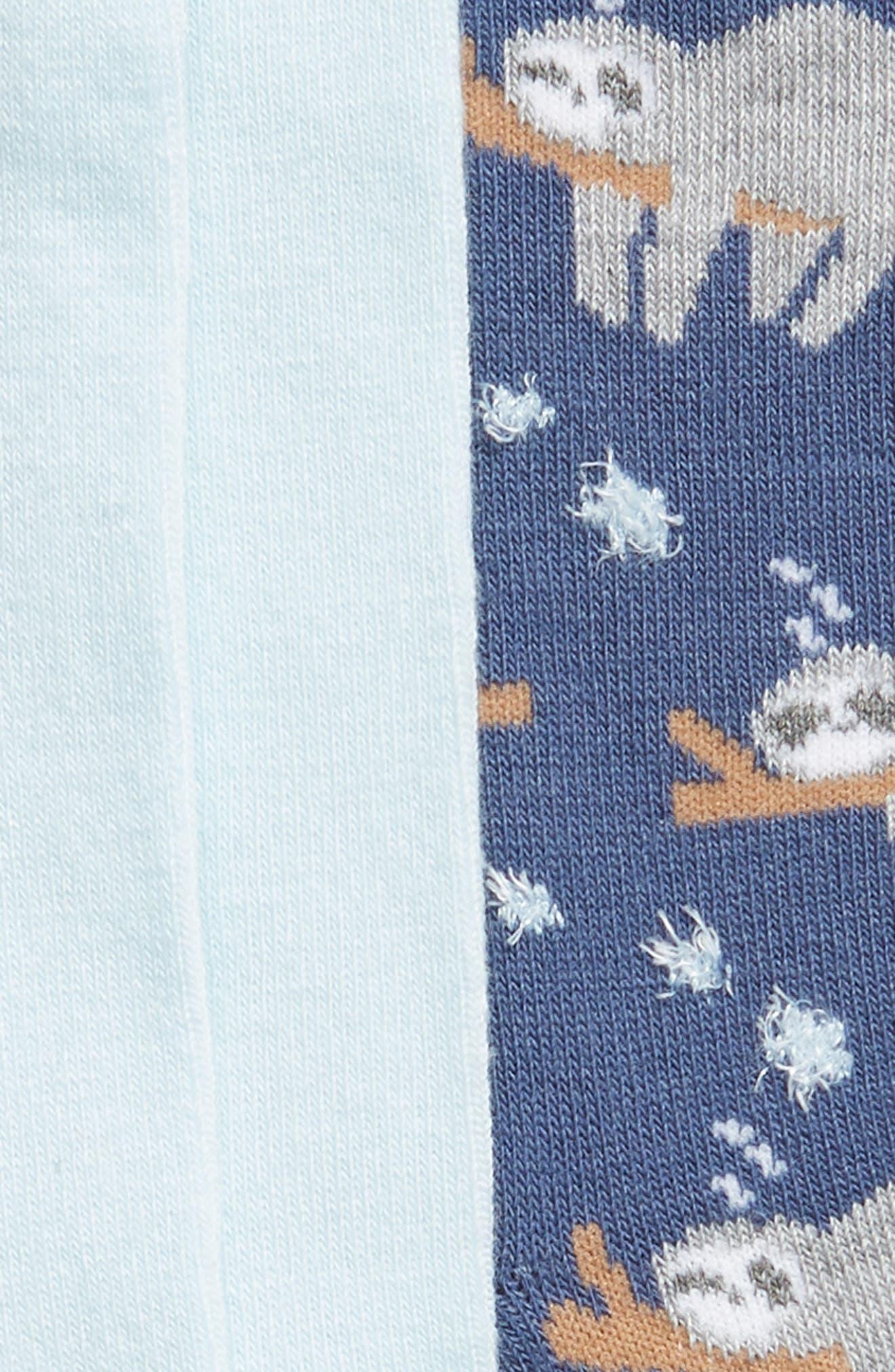 ,                             2-Pack Pattern Crew Socks,                             Alternate thumbnail 4, color,                             400