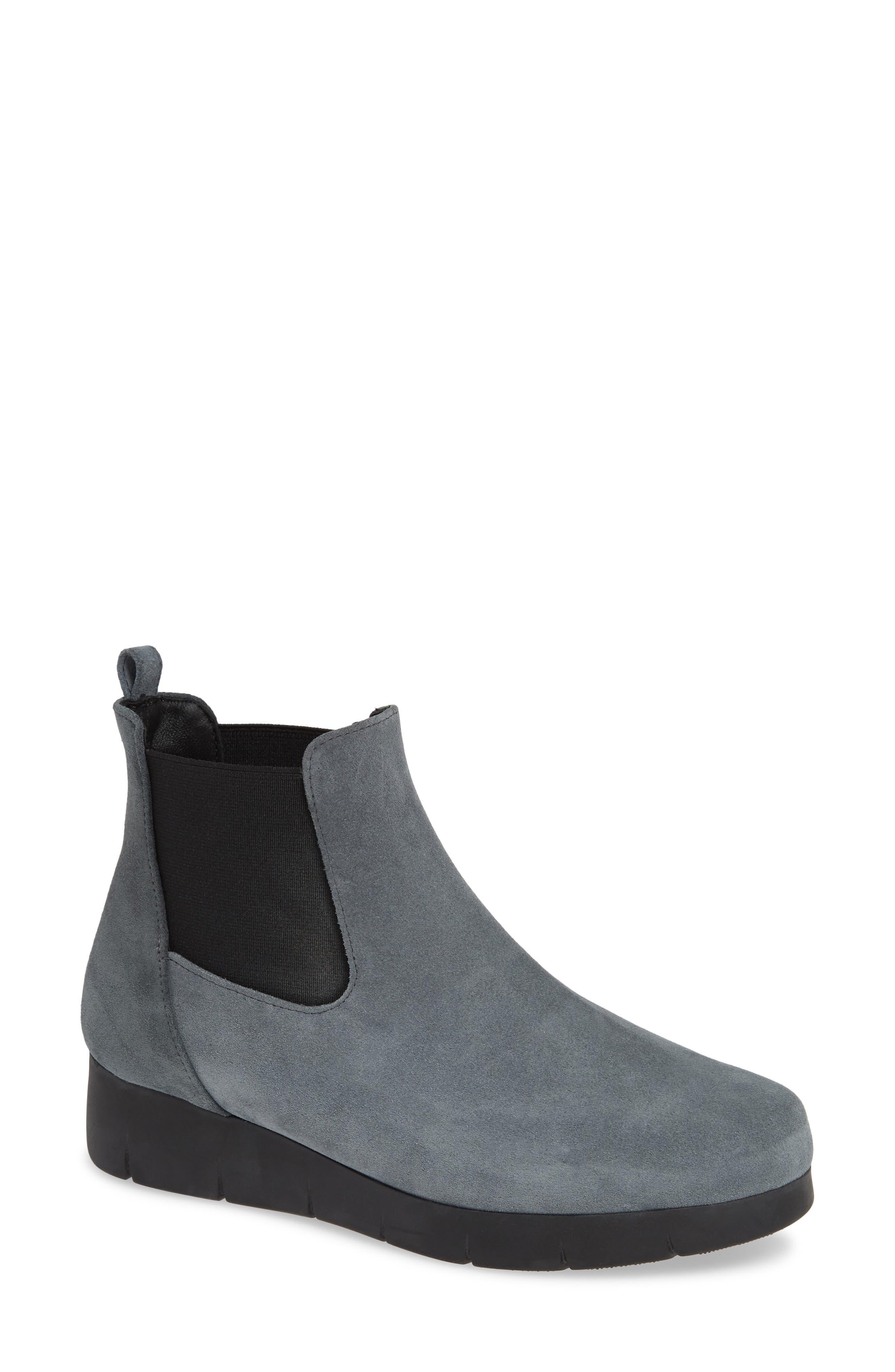 Cordani Aimee Water Resistant Chelsea Bootie, Grey