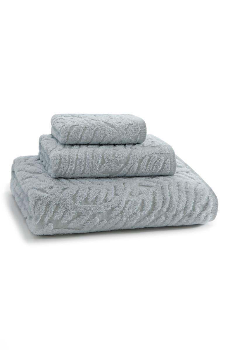 KASSATEX Palma Bath Towel, Main, color, CIELO